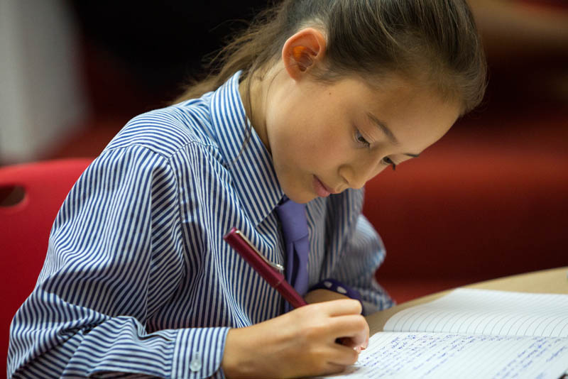 Remote Learning Girl | Wycombe Abbey