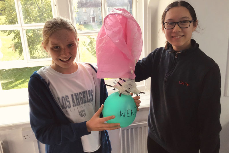 Egg Drop | Wycombe Abbey