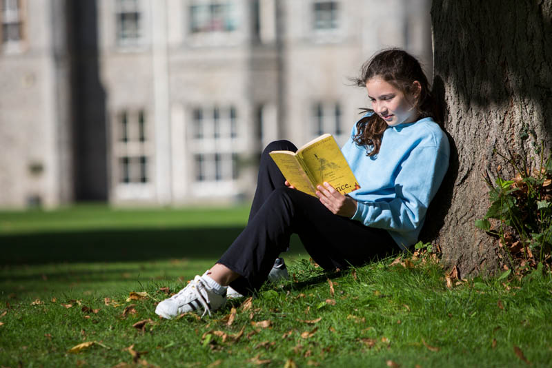Girl Reading Book | Wycombe Abbey