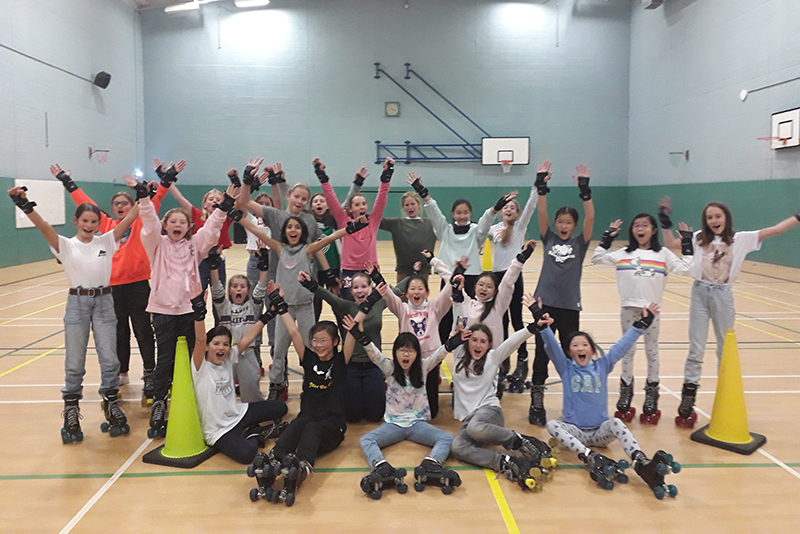Roller Disco Weekend Activity