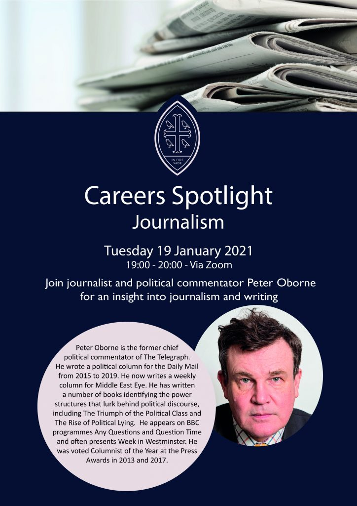 Careers Spotlight Talk: Journalism