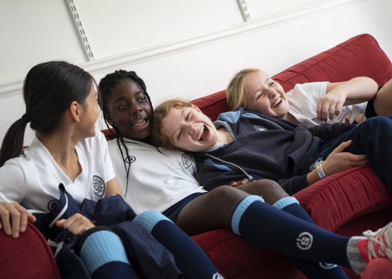 Junior House Girls at Wycombe Abbey
