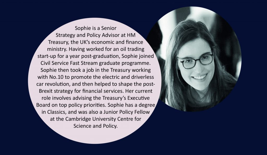 Careers Spotlight: Civil Service - Sophie Odenthal