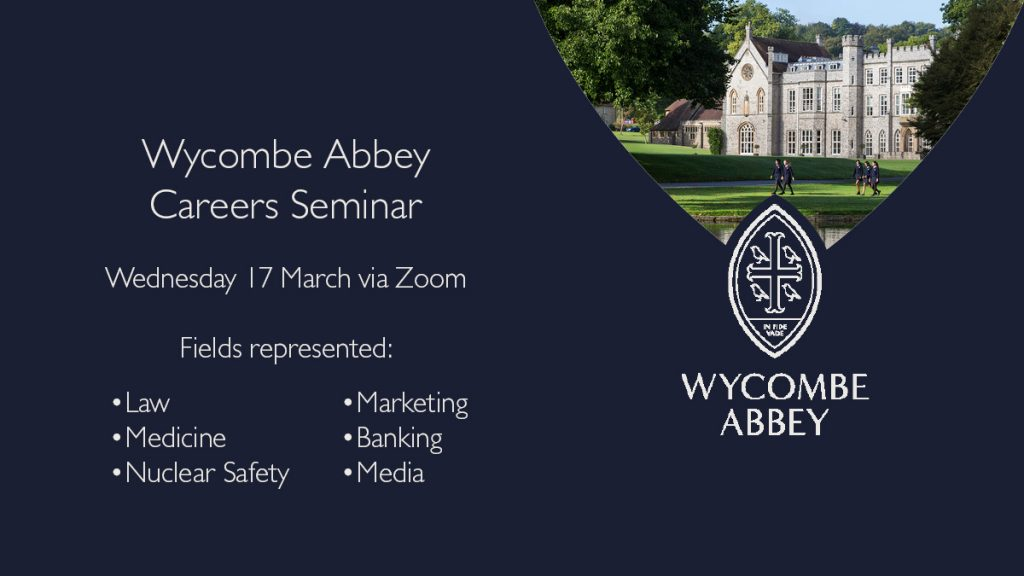 Wycombe Abbey Careers Seminar 2021