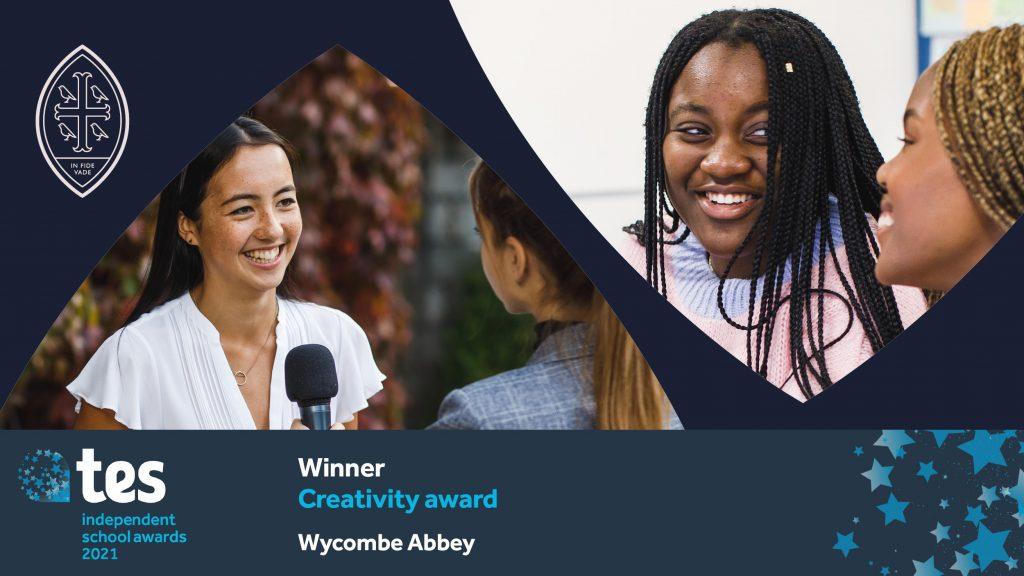 Wycombe Abbey wins Creativity Award at the TES Awards 2021
