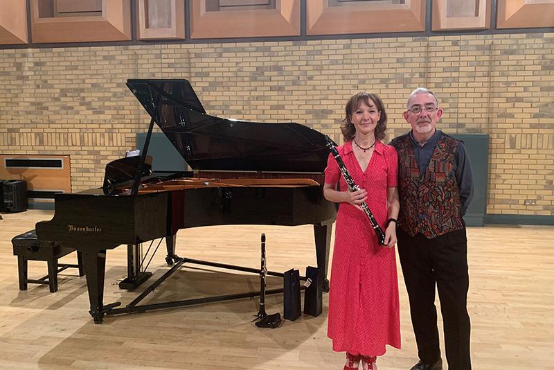 Clarinettist, Emma Johnson plays at Wycombe Abbey
